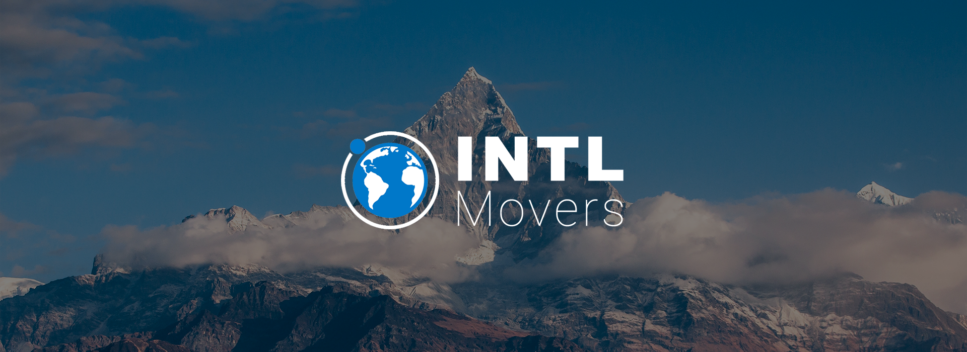 Логотип компании - INTL MOVERS