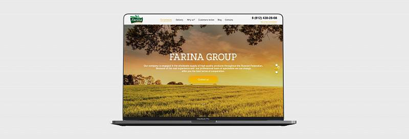 Turnkey Landing page - FARINA GROUP